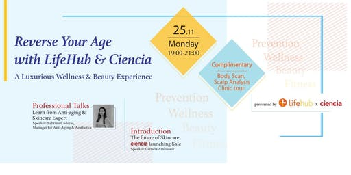 Reverse your age with LifeHub & Ciencia