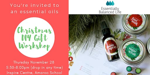 Christmas DIY Gifts with essential oils