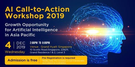 AI Call-to-Action Workshop 2019: Growth Opportunity for AI tickets