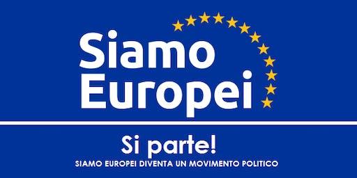 Lancio nazionale Siamo Europei