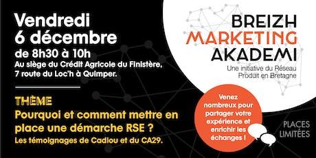Matinale Breizh Marketing Akademi Finistère Sud billets