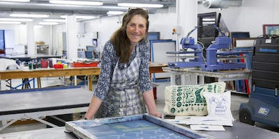 Plymouth College of Art - 10 week Textile Printmaking - Open Access (Jan 2020)