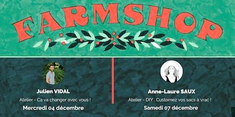 Ateliers - Farmshop de Noël by MiiMOSA billets