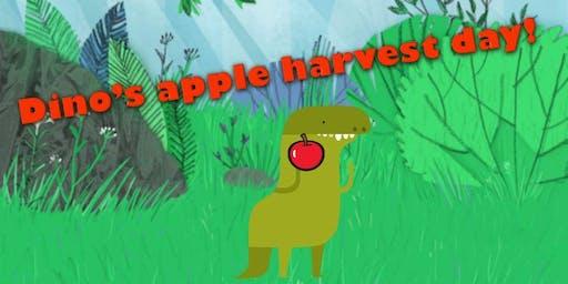 Dino's apple harvest day