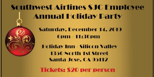 Southwest Airlines SJC Employee Annual Holiday Party