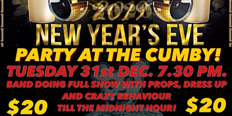New Years Eve live@thecumby X-Ray Ted tickets