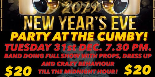 New Years Eve live@thecumby X-Ray Ted