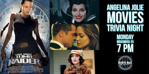 Angelina Jolie Movies Trivia Night