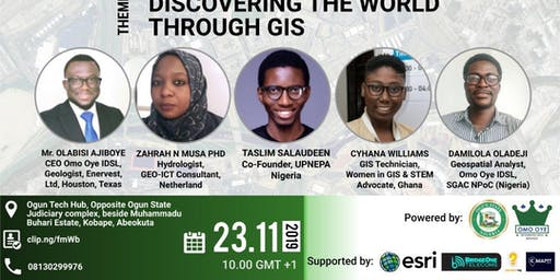 OGUN STATE GOVERNMENT IN COLLABORATION WITH OMOOYE IDSL CELEBRATES GIS DAY 2019
