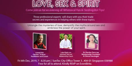 Love, Sex & Spirit tickets