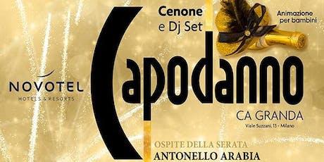 Capodanno 2020 Novotel Milano Ca Granda biglietti