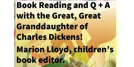 Book Reading with Great, Great Granddaughter of Charles Dickens! tickets