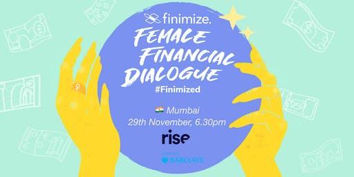 Female Financial Dialogue #Finimized, Mumbai