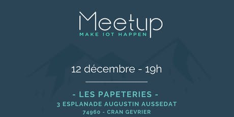 Meetup IoT #3 billets