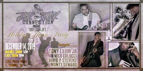 Holiday House Party: Exum Jr, Colucci, Seward, & Stewart!! 5pm Matinee Show tickets