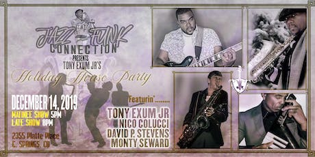 Holiday House Party: Exum Jr, Colucci, Seward, & Stewart!!  8pm Late Show tickets