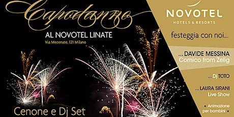Capodanno 2020 Novotel Milano Linate biglietti