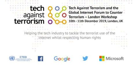 Tech Against Terrorism and GIFCT Tech Workshop in London tickets
