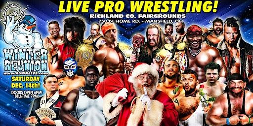 Live Pro Wrestling: ASWA Winter Reunion 2019!