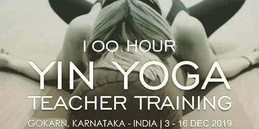 100 Hour Yin Yoga Teacher Training.⁠