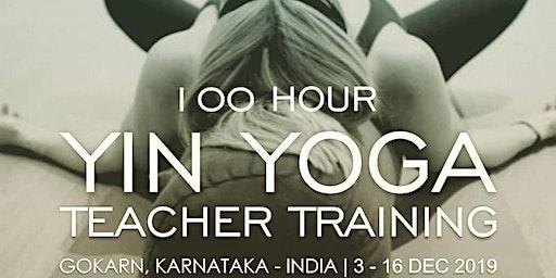 100 Hour Yin Yoga Teacher Training.