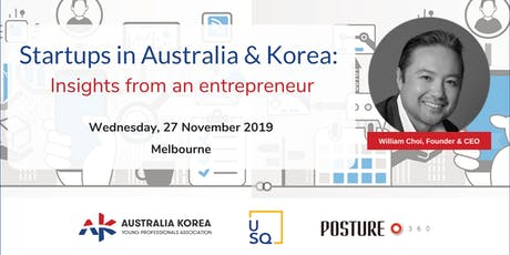 Startups in Australia & Korea: Insights from an entrepreneur tickets