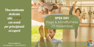 OPEN DAY DI PRATICA YOGA E MINDFULLNESS: per viverne la pienezza quotidiana