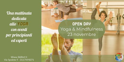 OPEN DAY DI PRATICA YOGA E MINDFULLNESS: per viverne la pienezza quotidiana