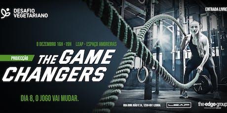 Projecção The Game Changers em Lisboa bilhetes