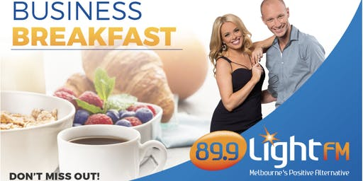 89.9 LightFM Business Breakfast - Thursday 5th December