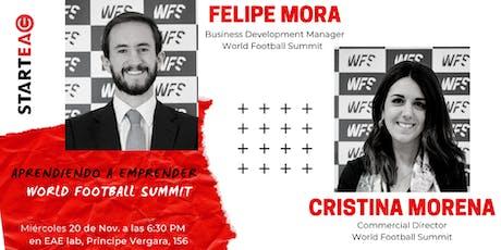 Aprendiendo a Emprender - World Football Summit entradas