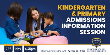 Invictus School Admissions Information Session tickets