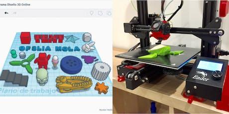 Binary Designer 3D Designing Robotics Workshop tickets