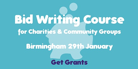 Bid-Writing for Charities & Community Groups Course tickets