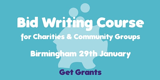 Bid-Writing for Charities & Community Groups Course
