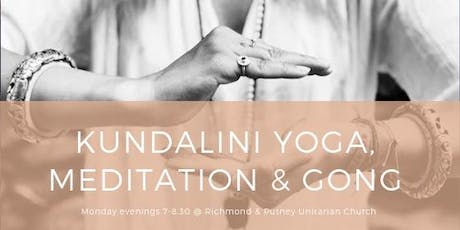 Kundalini Yoga, Meditation and Gong Sound Healing  tickets