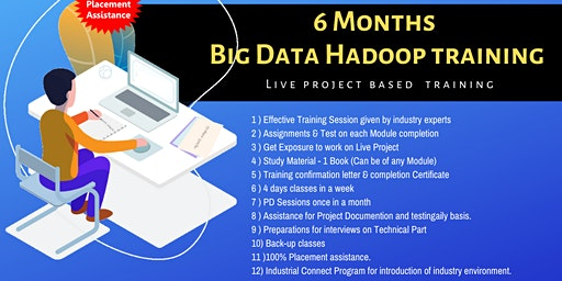 6 Months Big Data Hadoop Training in Delhi (Paid Training)