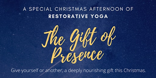 A special Christmas afternoon of Restorative Yoga