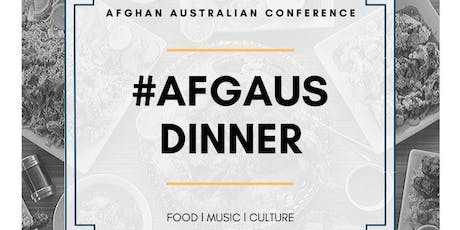 Afghan-Australian  Conference Dinner tickets