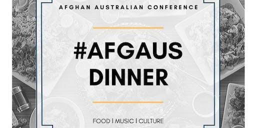Afghan-Australian  Conference Dinner