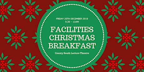 Facilities Staff Christmas Breakfast 2019 tickets