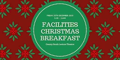 Facilities Staff Christmas Breakfast 2019