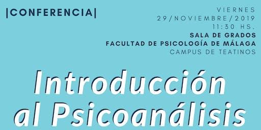 Conferencia de Psicoanálisis Introducción al Psicoanálisis