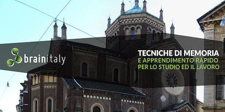Vercelli: Corso gratuito di memoria biglietti