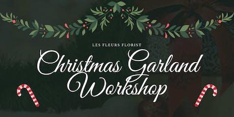 Christmas Garland Workshop tickets