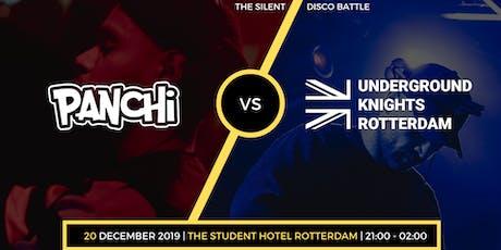 The Silent Disco Battle - Panchi VS. UKRotterdam tickets