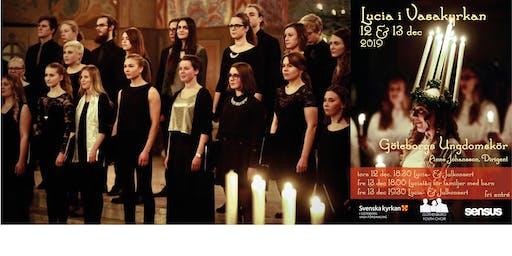 Lucia och julkonsert med Göteborgs Ungdomskör