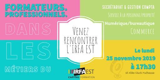 Rencontre FORMATEURS IRFA EST 2019