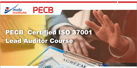 Lead Auditor ISO 37001:2016 PECB tickets