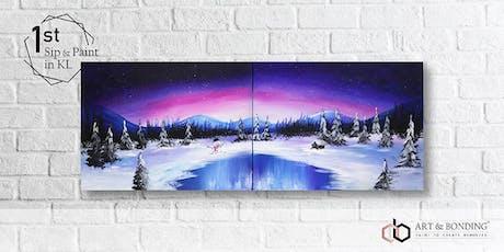 Sip & Paint Date Night : Frosty Winter Wonderland tickets